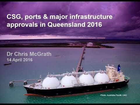 CSG, ports and major infrastructure approvals in Queensland