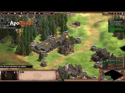 5 La tierra donde el tuerto es Rey [DIFÍCIL] Ivailo - Age of Empires II: Definitive Edition [AoE2DE]