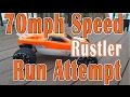 Traxxas Rustler with Neu-Castle  Sidewinder 3 Combo Speed Run | 24/90 Gearing