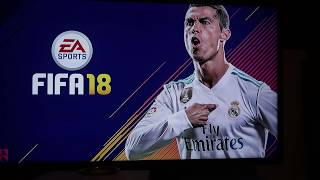 Fifa 18 Xbox unboxing and installing