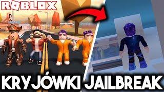 NAJLEPSZE KRYJÓWKI W JAILBREAK! (w: Admiros, Fairout, Mendi)   ROBLOX