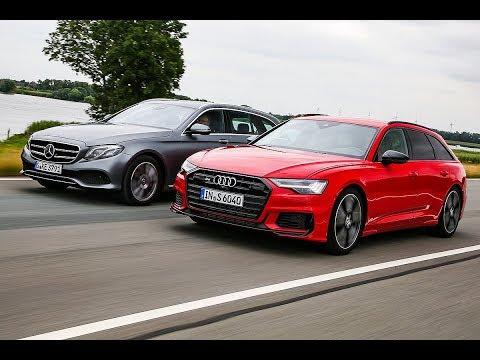 Audi S6 Avant vs Mercedes E400 d Estate