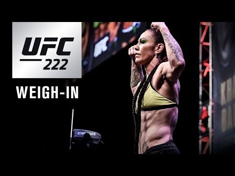 UFC 222: Weigh-in