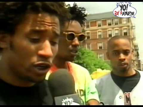Brand Nubian - Interview @ Yo MTV Raps 1990 (HQ)