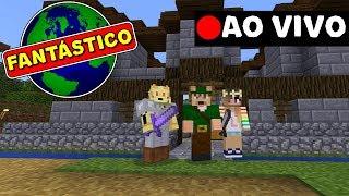 LIVE: SÉRIE O MUNDO FANTÁSTICO 2 AO VIVO !! ROBIN HOOD GAMER (MINECRAFT PE)