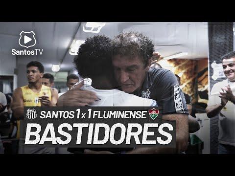 SANTOS 1 X 1 FLUMINENSE | BASTIDORES | BRASILEIRÃO (21/02/21)