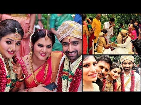 Nandhini Serial actress Nithyaram Marriage Videos and Photos !!  |TamilCineChips