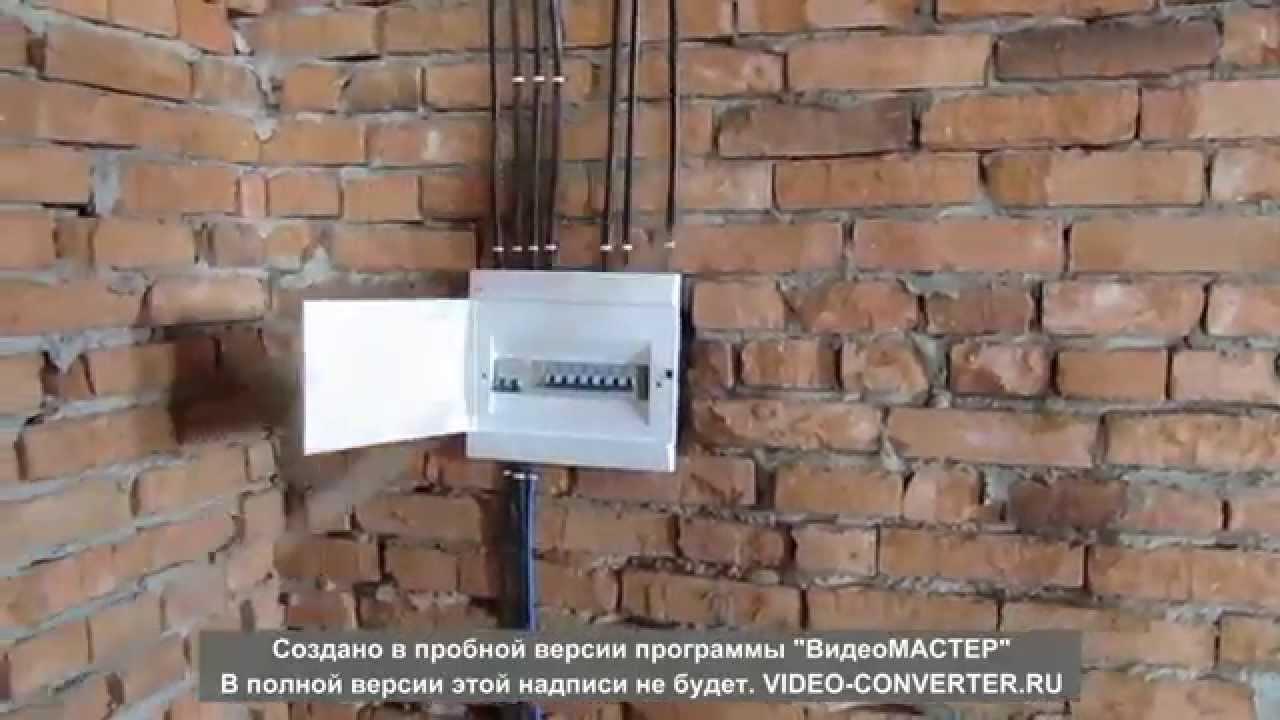электромонтаж в частном доме.