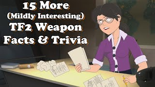 15 More Mildly Interesting TF2 Weapon Facts, Trivia, & History