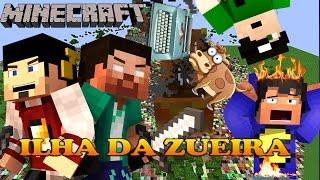 Minecraft - Pandoras Box - A ILHA DA ZUEIRA! #1