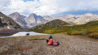 Backpacking Colorado San Juan Mountains/Weminuche Wilderness: 30 Mile to Chicago Basin