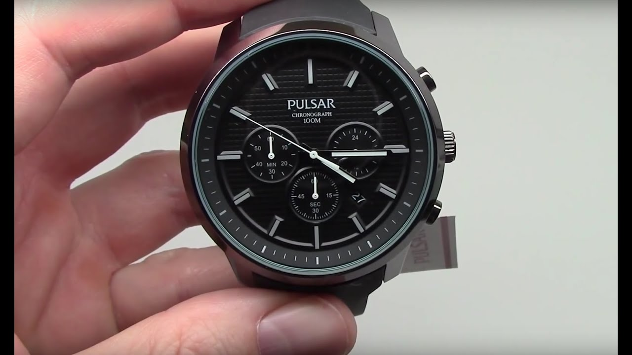 pulsar on the go men s watch review model pt3205