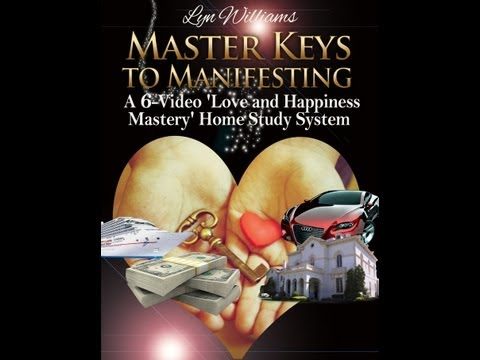 Master Keys to Manifesting  Home Study System - Free Mini-Coaching