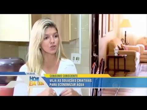 HOUSE SHINE - Hoje em dia - Economia de água 16/02/2015