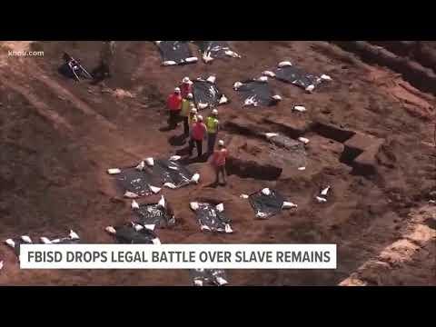 FBISD drops legal battle over slave remains