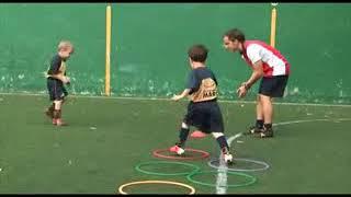 Футбольные упражнения для детей раннего возраста