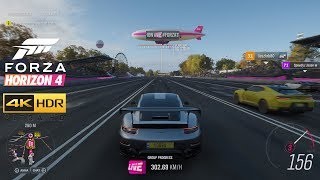 Forza Horizon 4 - #Forzathon Live Gameplay in 4K and HDR