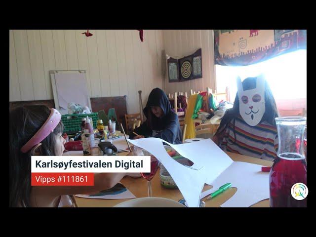 Kunst- og barneprogram - Karlsøyfestivalen Digital