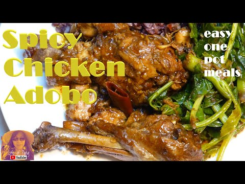 EASY PRESSURE COOKER RECIPES: Spicy Chicken Adobo – Life of Pang