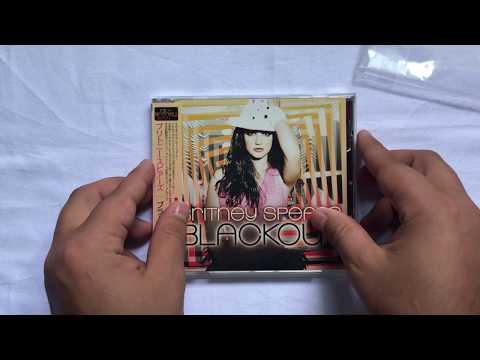 Loja Glory Shop: Britney Spears - Blackout   Japan [Unboxing]