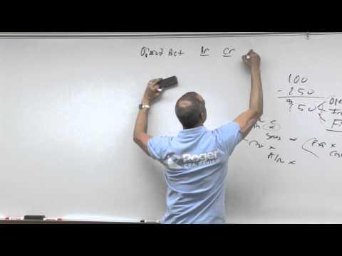 Statement of Cash Flows - Lesson 3