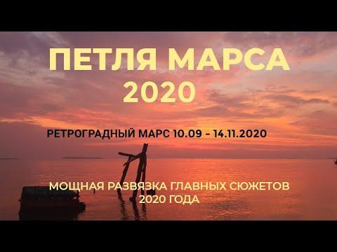 ПЕТЛЯ МАРСА И РЕТРОГРАДНЫЙ МАРС 2020. МОЩНАЯ РАЗВЯЗКА ГЛАВНЫХ СЮЖЕТОВ  ГОДА.