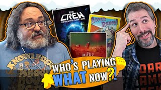 Who's Playing What Now?! + Top 10 Popular Board Games February 2020