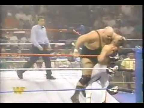 WWF King Kong Bundy vs Jeff Hardy