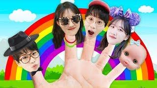 말이야와 인기 동요 핑거패밀리 놀이 Five fingers family Nursery Rhymes