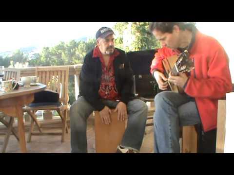 Tangos flamenco en Vivo guitarra y cajon, con Ricardo Espinosa