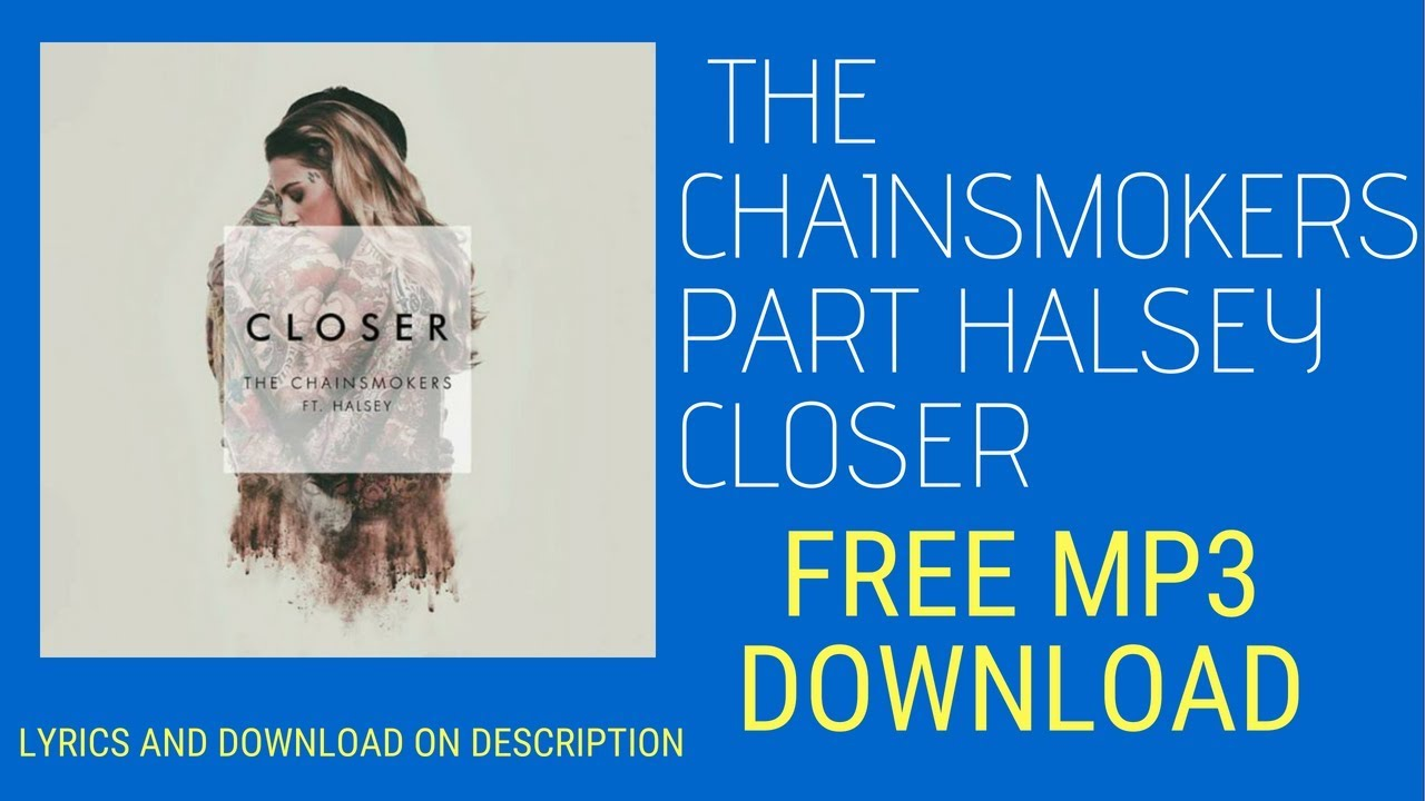 The chain smokers halsey mp3 download