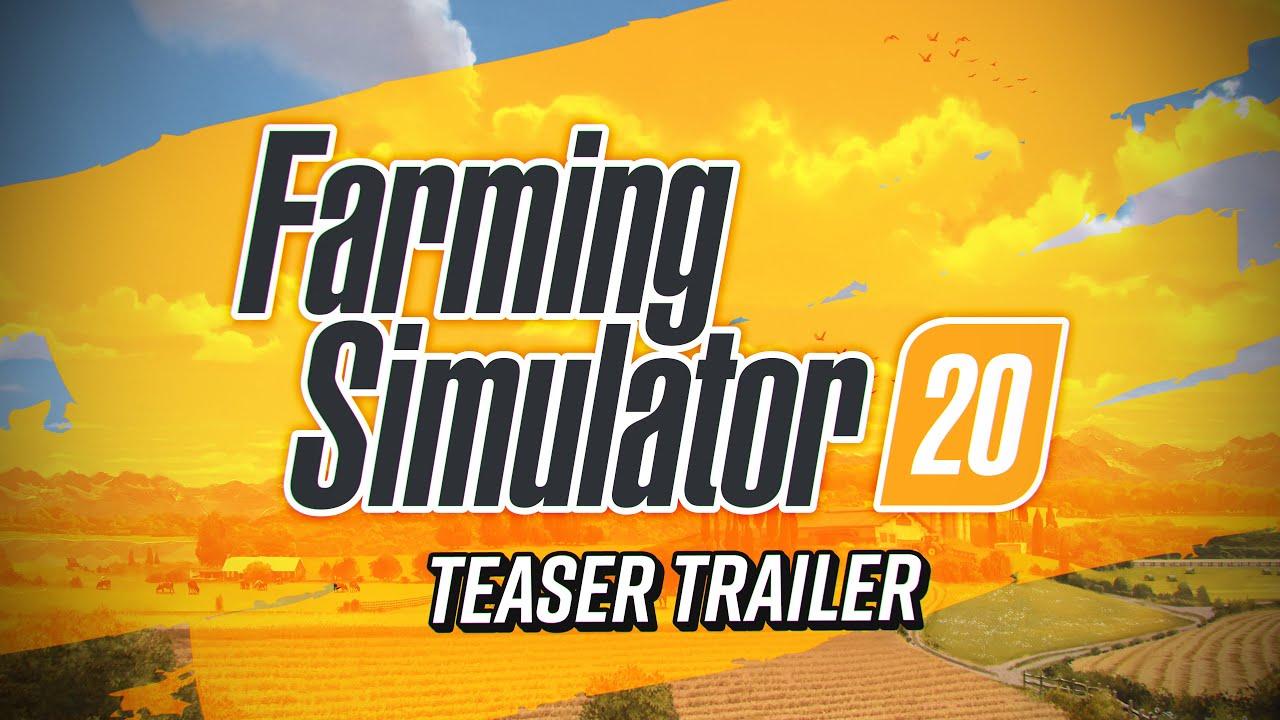 Teaser Trailer για το Farming Simulator 20