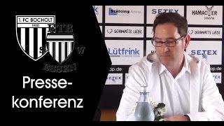 Pressekonferenz 25. Spieltag: 1. FC Bocholt - ETB Schwarz-Weiß Essen 1:1 (1:1)
