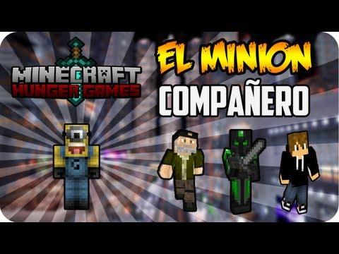 EL MINION COMPAÑERO!! - Juegos del Hambre c/ Luzu y Willyrex
