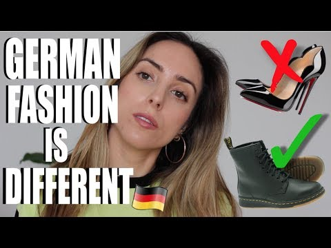 HOW MY FASHION HAS CHANGED IN GERMANY