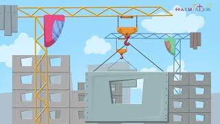 СТРОИТЕЛЬ | В МИРЕ ПРОФЕССИЙ - стихи-мультфильмы для малышей