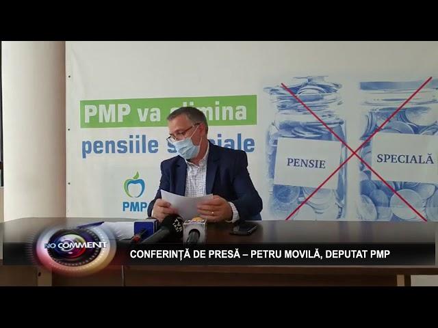 CONFERINȚĂ DE PRESĂ – PETRU MOVILĂ, DEPUTAT PMP
