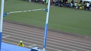 2013全国中学校体育大会 男子棒高跳び 名古屋市瑞穂陸上競技場