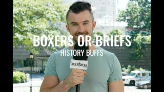 2018 | History Buffs answer Boxers or Briefs | Mens Fashion in Underwear