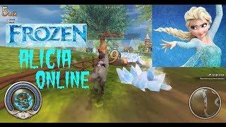 Королевство Эльзы в Алисия онлайн(Холодное сердце 2)-Elsa's kingdom in Alicia Online ( Frozen 2)