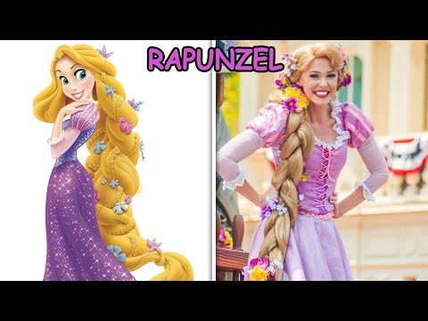 Amazing Disney Princesses In Real Life 2017!