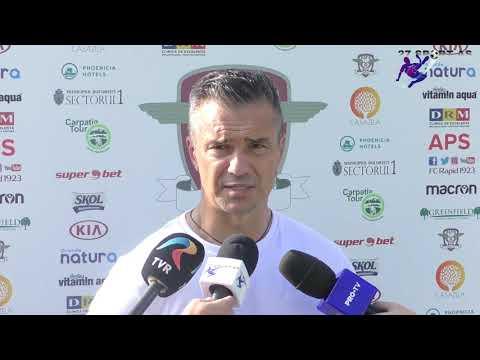 Declarație Daniel Pancu După Rapid - Ripensia 0-0 Liga II, Etapa A 14-a Sezon 2019/2020