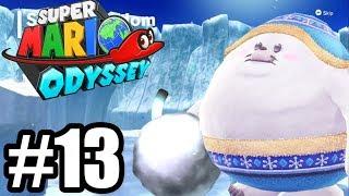 ŚNIEŻNA KRAINA - Le'ts Play Super Mario Odyssey #13 [NINTENDO SWITCH]