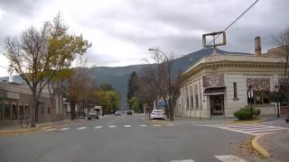 Driving in Grand Forks, British Columbia (BC), Canada - Drive Through Town - West Kootenay