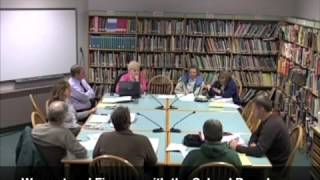 Warrant and Finance - School Budget - 03-02-2011