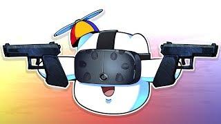 Super Hot Milkbag Plays VR (Superhot VR)