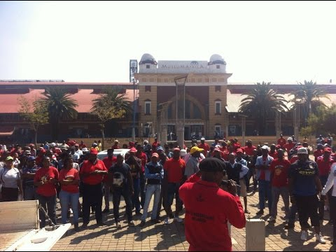 WATCH: Communication Workers Union calls for Telkom CEO to resign