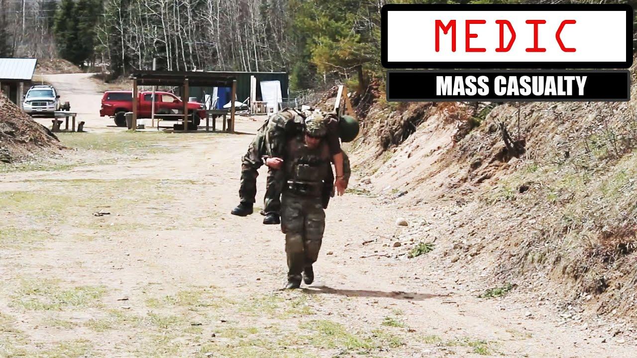 Mass Casualty Drill Combat Medic