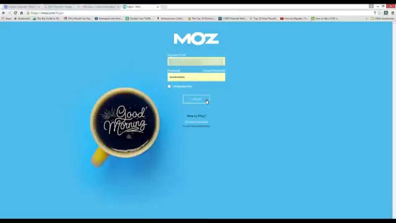 How to Create a New Campaign Using Moz Pro