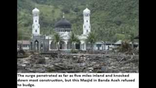 Tsunami Wipes Out Everything EXCEPT 28 Mosques - Sign Islam is the TRUTH Thumbnail